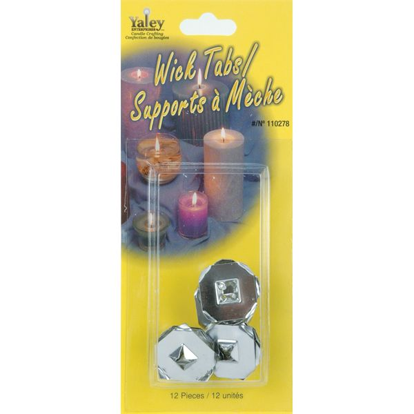 Candle Wick Tabs 12/Pkg