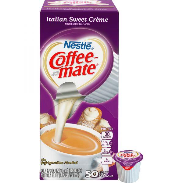 Coffee-mate Liquid Italian Sweet Creme Coffee Creamer Cups