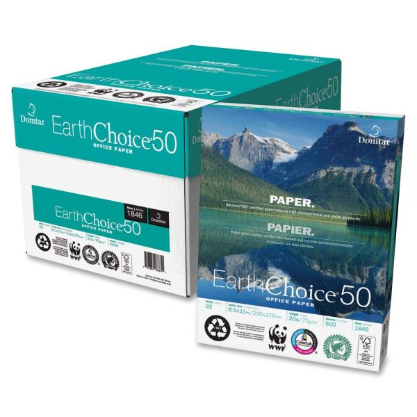 EarthChoice 50 Multi-Purpose White Copy Paper