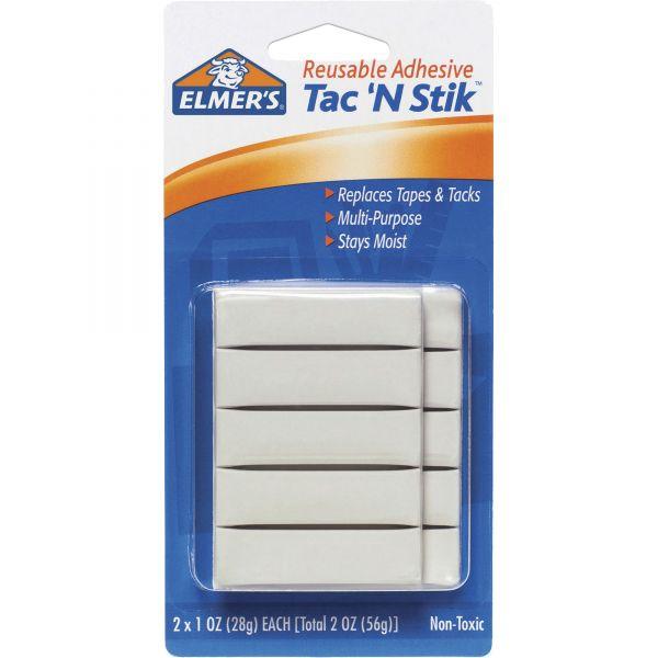 Elmer's Tac 'N Stik Removable Adhesive Putty