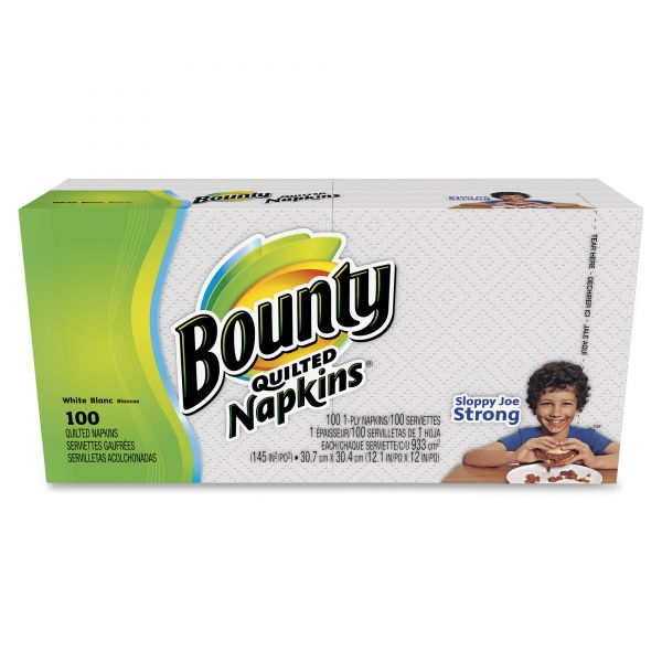 Bounty Quilted Everyday Paper Napkins