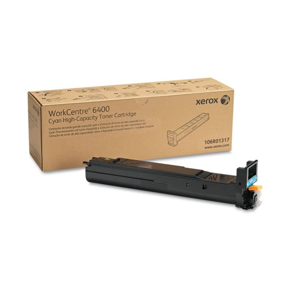 Xerox 106R01317 Cyan High Yield Toner Cartridge