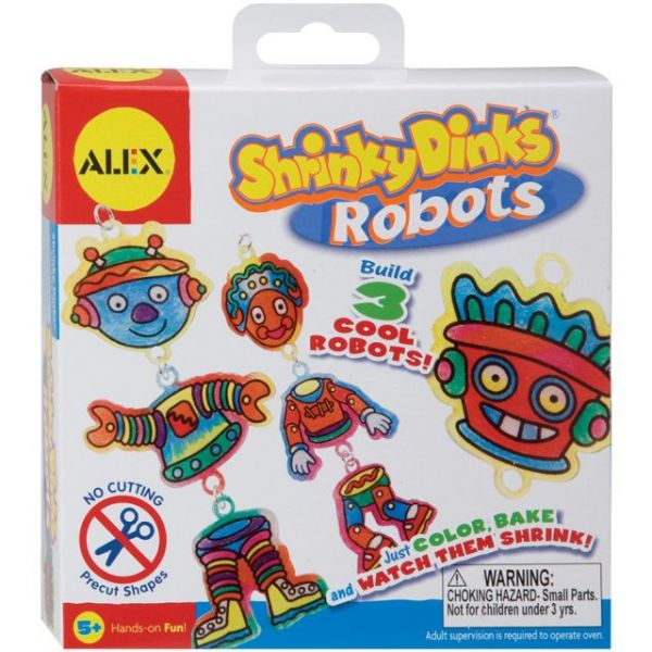 ALEX Toys Shrinky Dinks Robots Kit