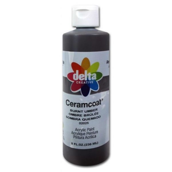 Ceramcoat Burnt Umber Acrylic Paint