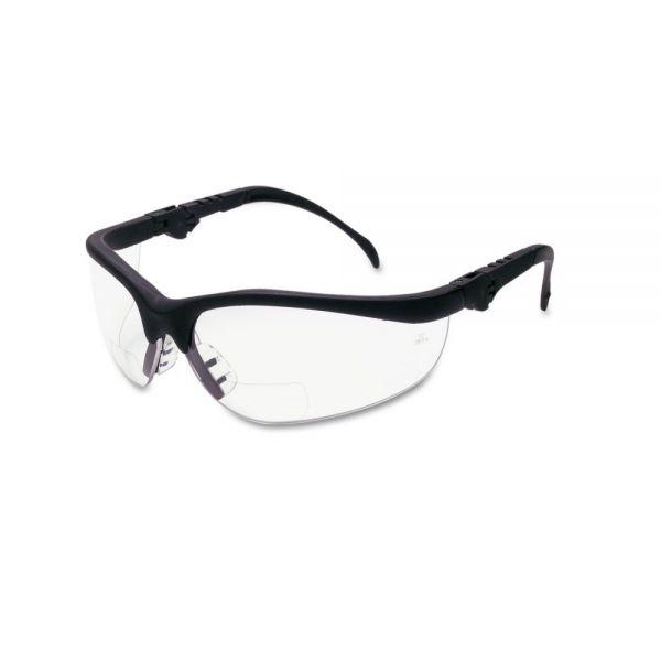 Crews Klondike Magnifier Glasses, 2.0 Magnifier, Clear Lens