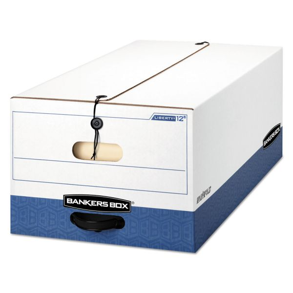 Bankers Box Liberty Heavy-Duty String & Button Storage Boxes