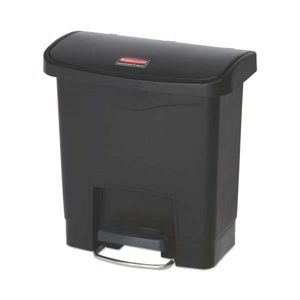 Rubbermaid Commercial Slim Jim Step-On 4 Gallon Trash Can
