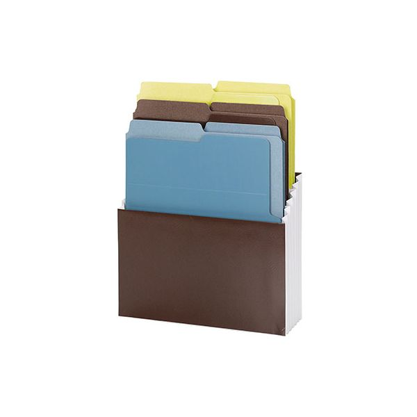 Smead Organized Up Vertical Stadium File with Heavyweight Vertical Folders