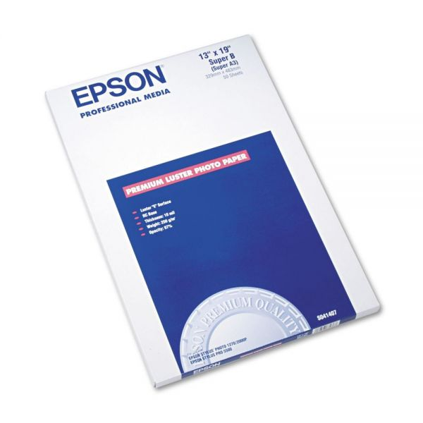 Epson Ultra-Premium Luster Photo Paper