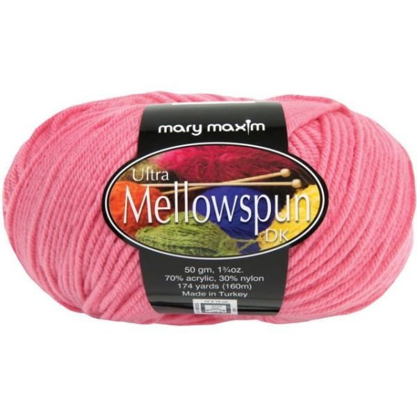 Mary Maxim Ultra Mellowspun Yarn - Rose