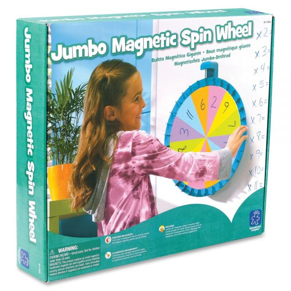 Educational Insights Jumbo Magnetic Spin Wheel