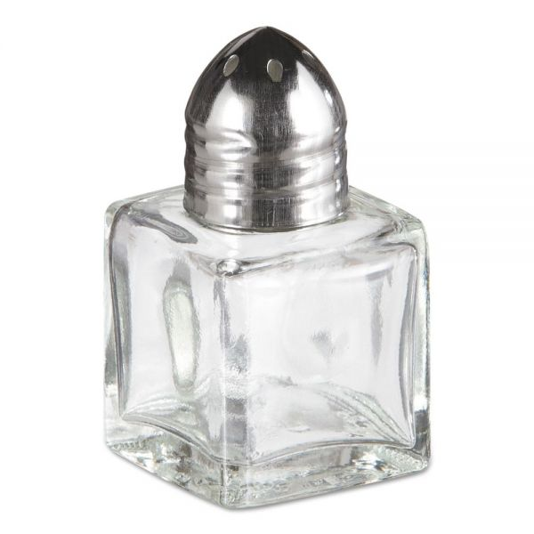 Adcraft Mini Cube Salt/Pepper Shakers