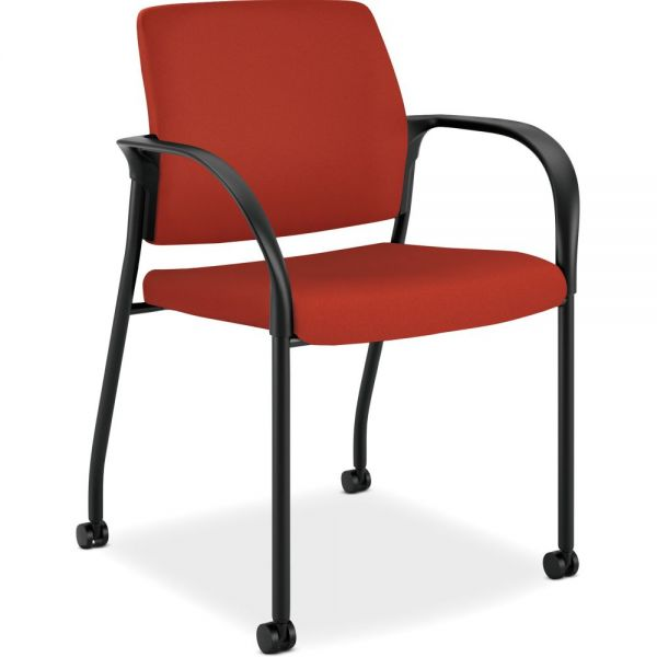 HON Ignition Series Multi-Purpose Stacking Chair with Casters