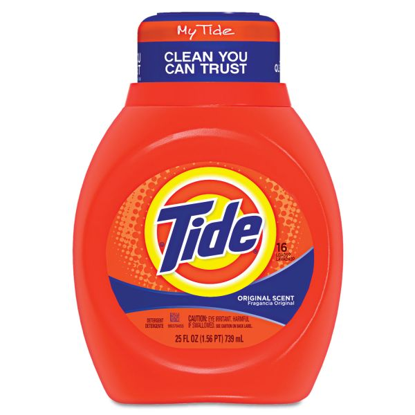 Tide Acti-lift Laundry Detergent