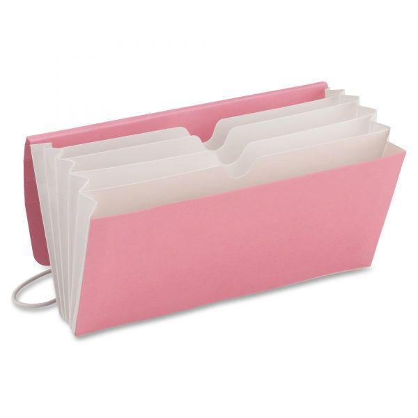 Smead 70204 Dark Pink Tag Along Organizer