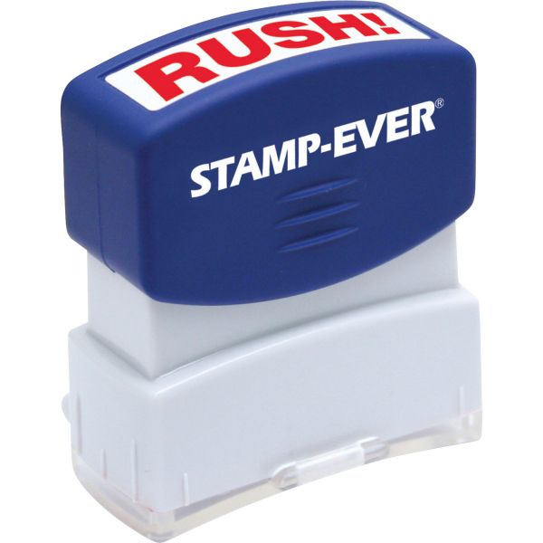 Stamp-Ever Pre-Inked One-Clear Rush! Stamp