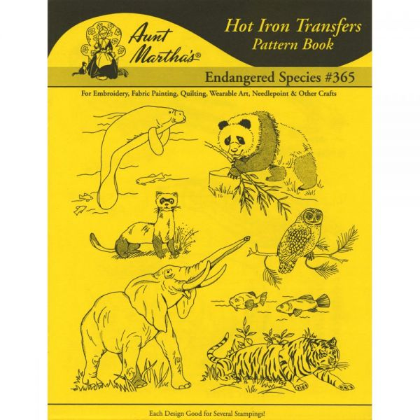 Aunt Martha's Iron-On Transfer Book
