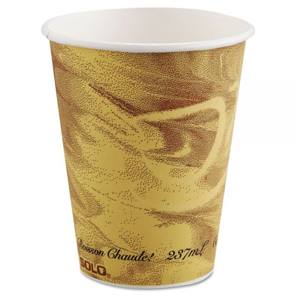 SOLO Cup Company Mistique Polycoated Paper 8 oz Coffee Cups