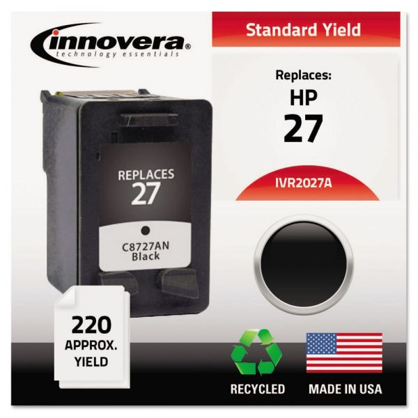 Innovera Remanufactured HP 27 Ink Cartridge