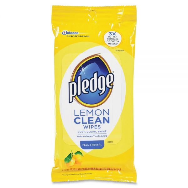 Pledge Furniture Polish Wipes