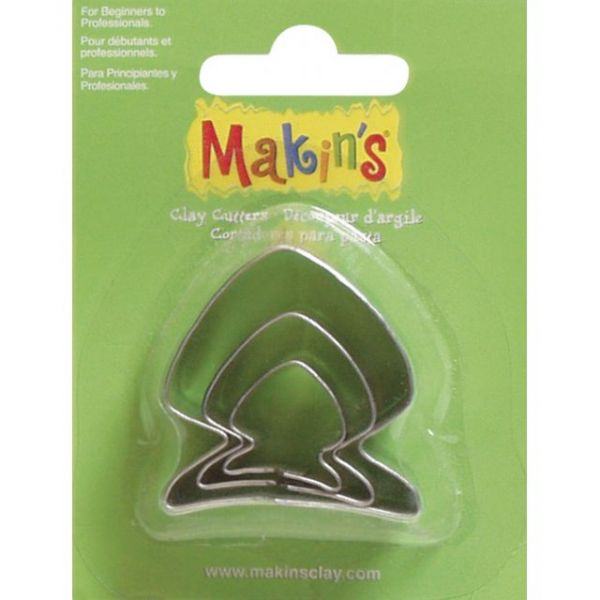 Makin's Clay Cutters 3/Pkg