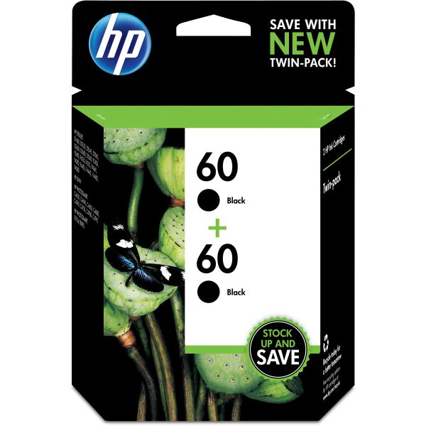 HP 60 Black Ink Cartridge (CZ071FN)