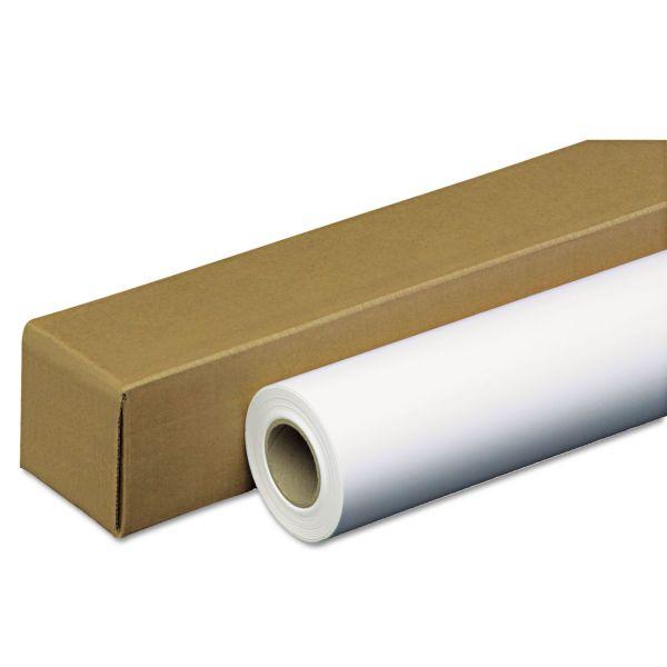 """PM Company Amerigo Wide-Format Paper, 35 lbs., 2"""" Core, 42"""" x 100 ft, White, Amerigo"""