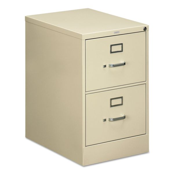 HON 510 Series Two-Drawer, Full-Suspension File, Legal, 29h x25d, Putty