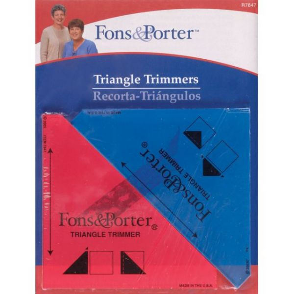 Fons & Porter Triangle Trimmers
