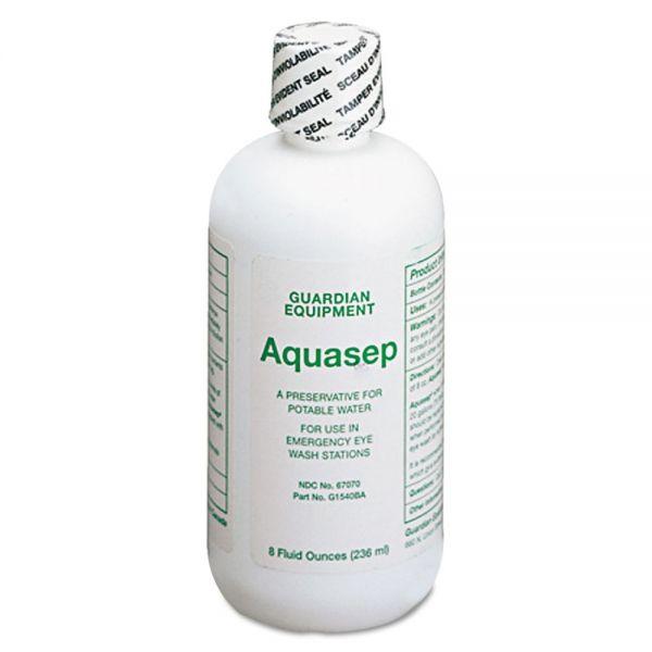 Guardian Additive for Portable Emergency Eyewash Stations, 8oz Bottle