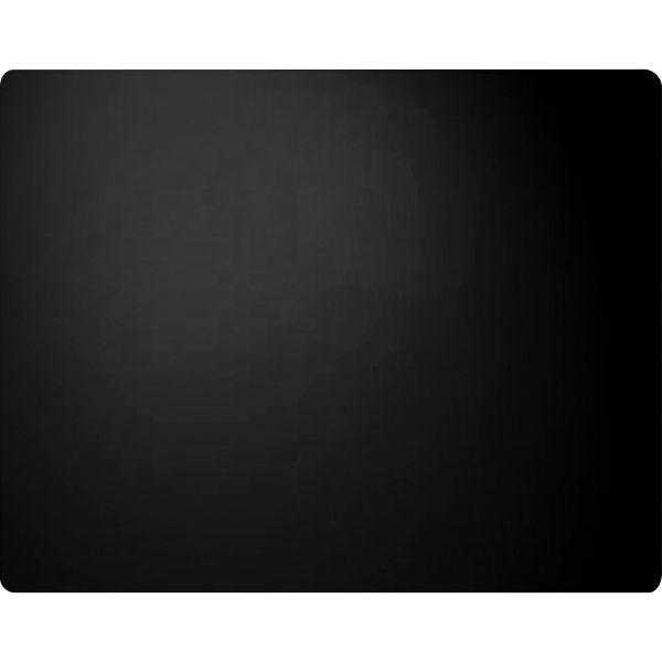 Artistic Leather Desk Pad w/Coaster, 19 x 24, Black