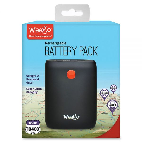 Weego Tour 10400 Battery Pack