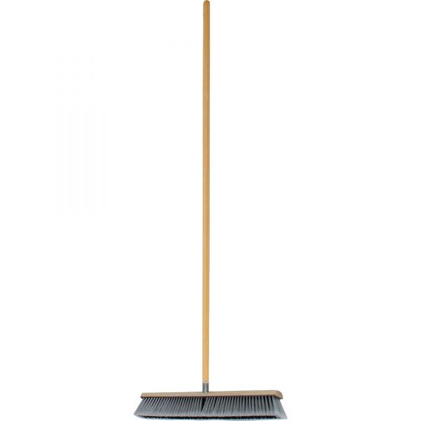 Genuine Joe Heavy-Duty Push Broom