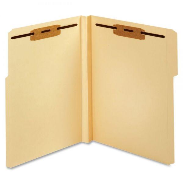 Globe-Weis Manila File Folders With Fasteners