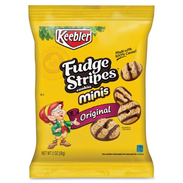 Keebler Fudge Shoppe Mini Fudge Stripes Cookies
