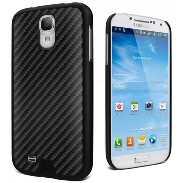 Cygnett Black Carbon Fibre UrbanShield Carbon Fibre Galaxy S4