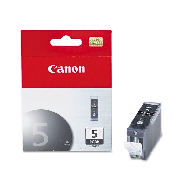 Canon PGI5BK (PGI-5BK) Ink, Black
