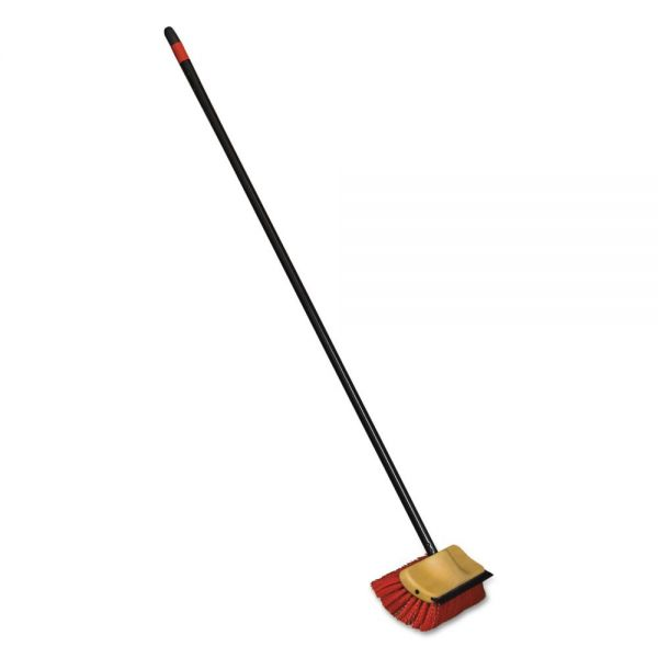 O-Cedar Commercial Bi-Level Floor Scrub Brushes