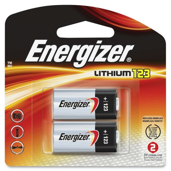 Energizer Lithium 123 3-Volt Battery