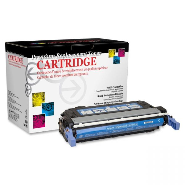 West Point Products Remanufactured HP CB401A Cyan Toner Cartridge