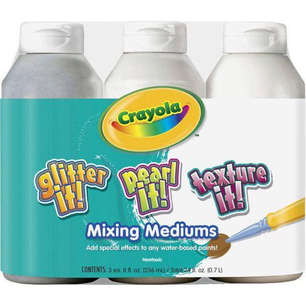 Crayola Mixing Mediums Paint Effects