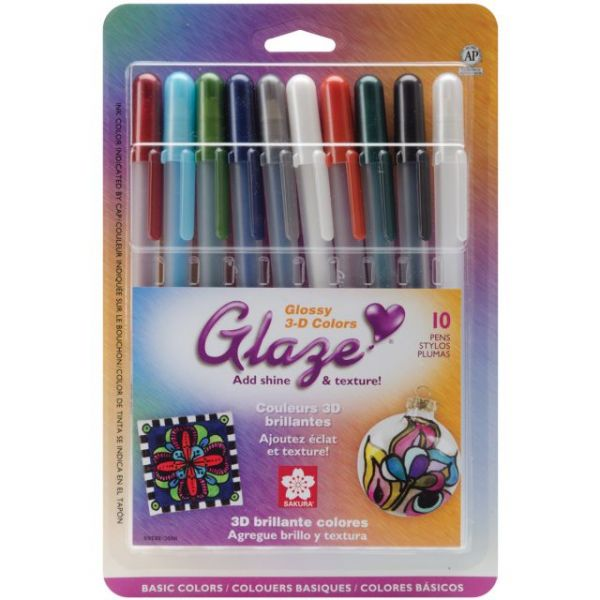 Gelly Roll Glaze Bold Point Roller Ball Pens