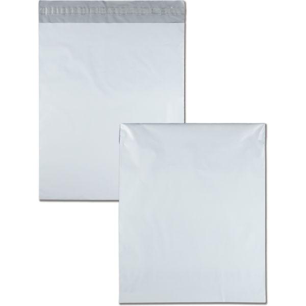 Quality Park White Poly Mailing Envelopes