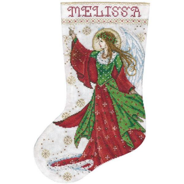 Angel Of Joy Stocking Counted Cross Stitch Kit