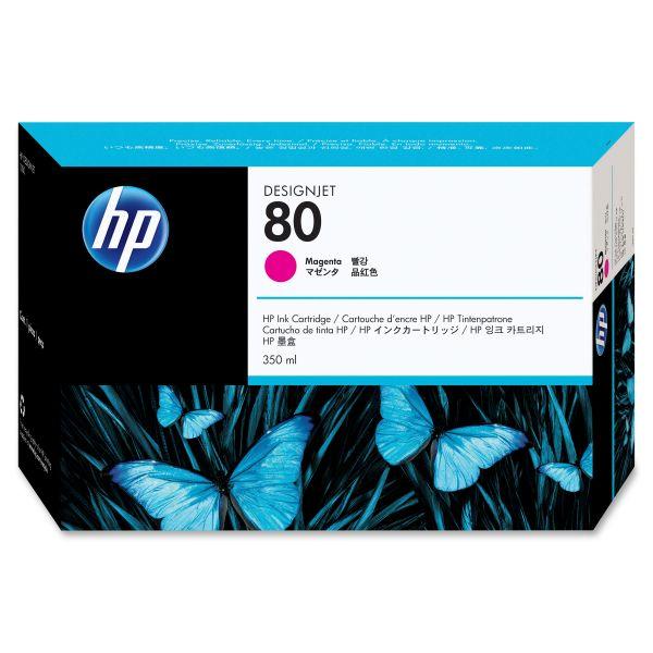 HP 80 Magenta Ink Cartridge (C4847A)