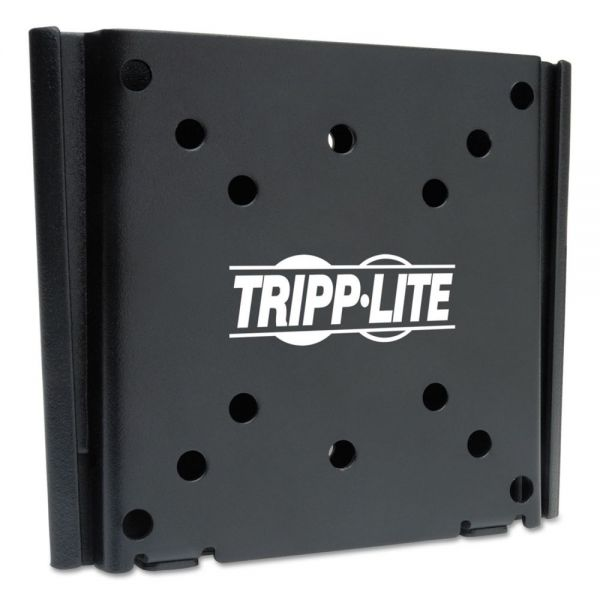 "Tripp Lite Wall Mount, Fixed, Steel/Aluminum,13"" to 27"", Black"