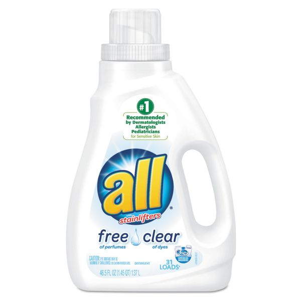 All Free & Clear Liquid Laundry Detergent