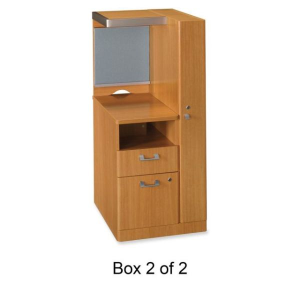 bbf Quantum QT2827MC Right Storage Tower Box 2 of 2 by Bush Furniture