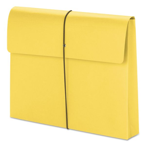 Smead Accordion Expansion Wallet with String Closure