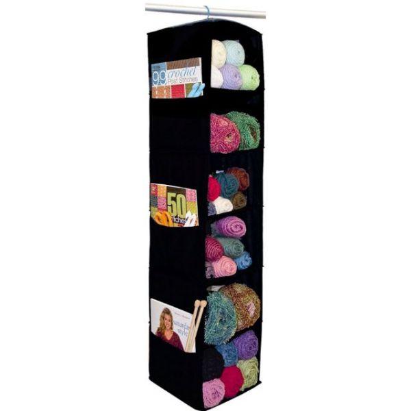 """6 Shelf Yarn & Craft Organizer 48""""X11""""X11"""""""